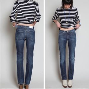 Acne Hep Almost Raw Straight Jeans 29